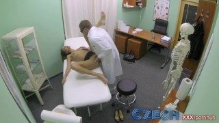 Czech Doctor Makes Hot Patient With Wonderful Breast Gush For The First Time