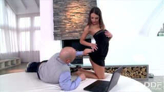 Glamour Teen Girl Foxy Di Rides Big Wild Boner Really Rough With Ass Pink